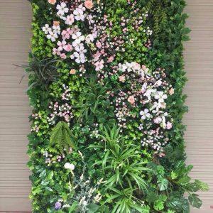 mẫu tường hoa giả đẹp