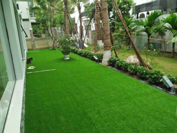 thảm cỏ giả