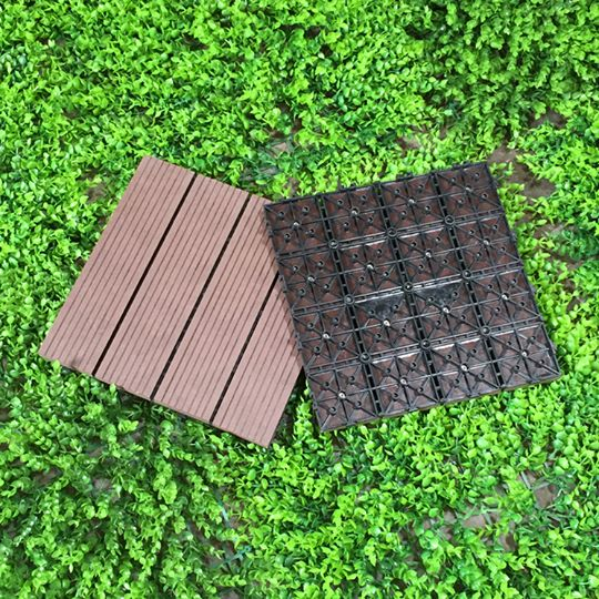 vỉ gỗ nhựa composite màu ghi
