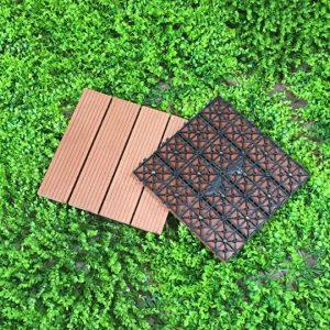 vỉ gỗ nhựa composite đỏ