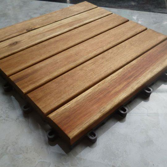 vỉ gỗ tự nhiên nan ngang